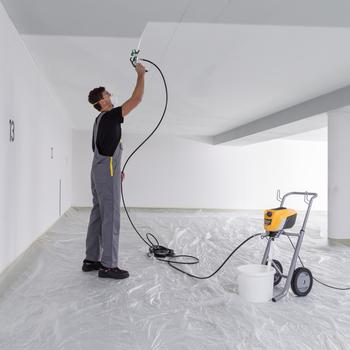 Pulverización Airless profesional con hasta un 55% menos de neblina de pulverización y el máximo control