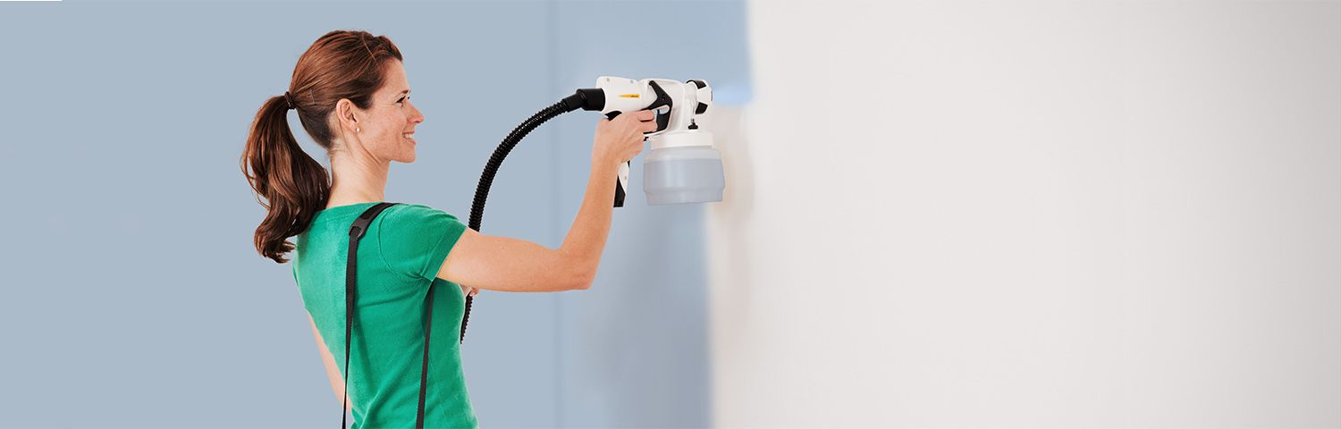 wallsprayer w 450 the lightweight paint sprayer for interior walls