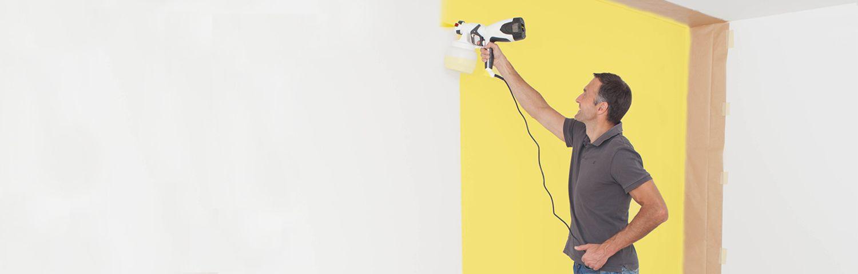 Wall paint sprayer system WallSprayer W 400 - The small hand-held ...