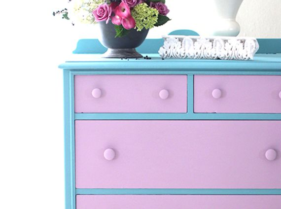 Dresser in chalk paint
