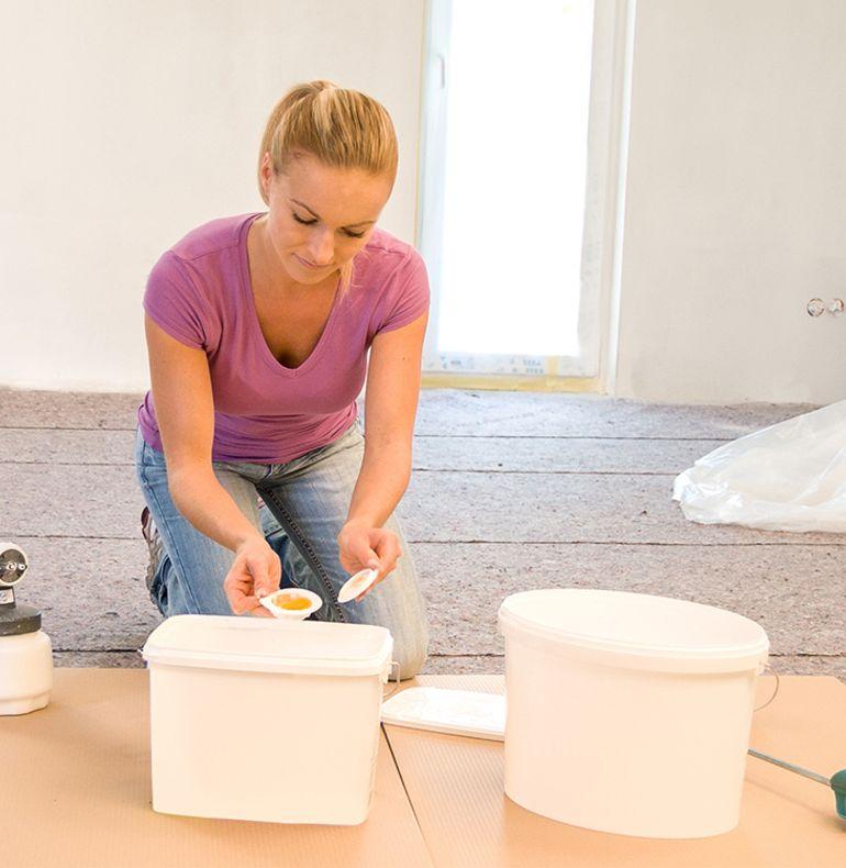 Preparing the material