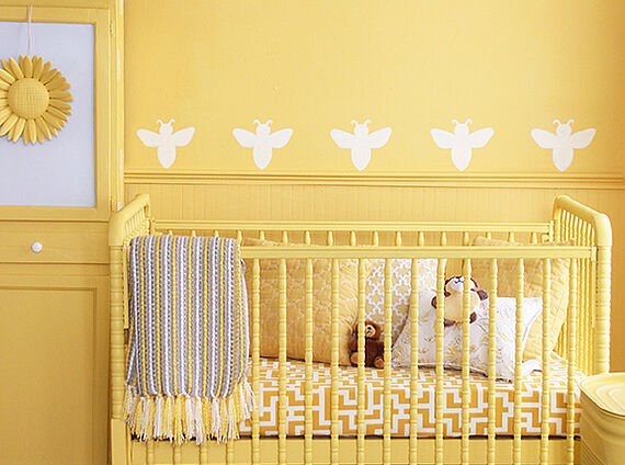 Painting and decorating a nursery