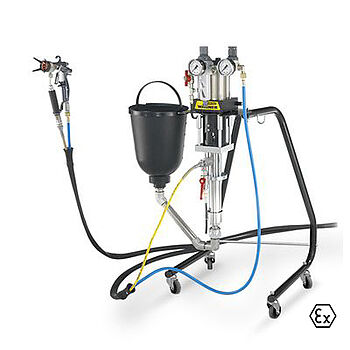 Introduction to the world of AirCoat technology with proven piston pump performance