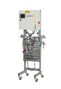 Mixing and dosing unit