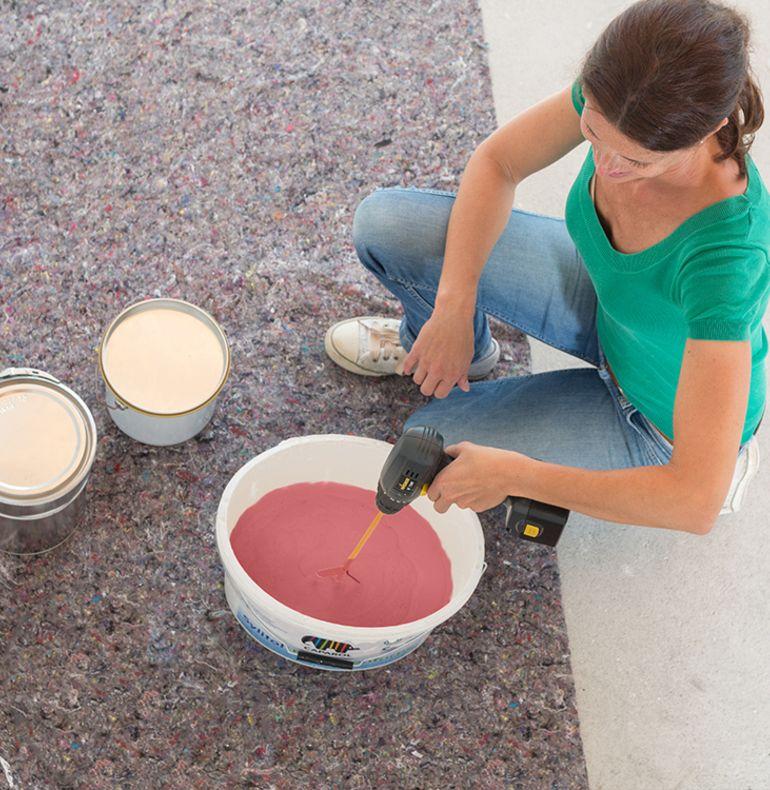 Preparing the paint