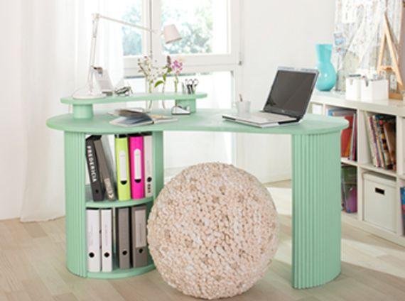 Schreibtisch bauen