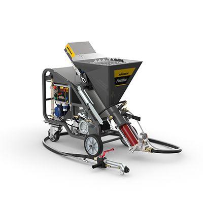 Mischpumpe (230 V) zum rationellen Auftragen von mineralischen und pastösen Materialien