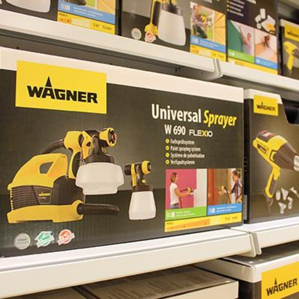 WAGNER in the DIY store