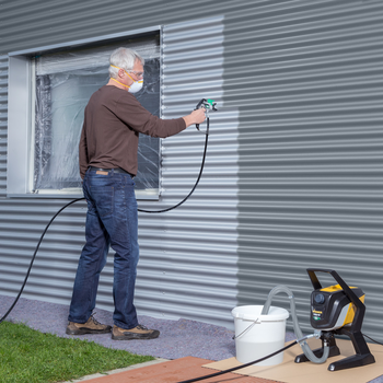 Airless paint sprayer from the latest generation — user-friendly and precise