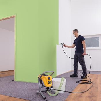 Aplicación de la pintura perfecta y controlada con Airless