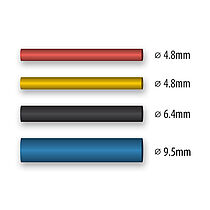 Shrink tubing 4.8 - 9.5 mm