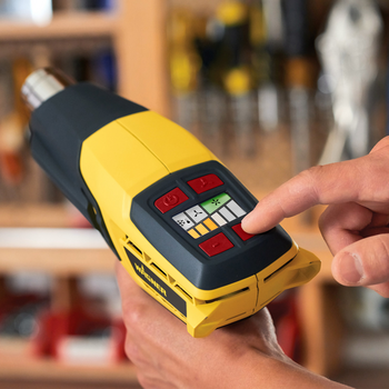 The powerful adaptable heat gun for a range of DIY jobs