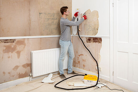 The best solution for removing old wallpaper