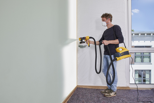The universal paint sprayer for interior and exterior use