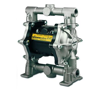 Low-pressure diaphragm pump