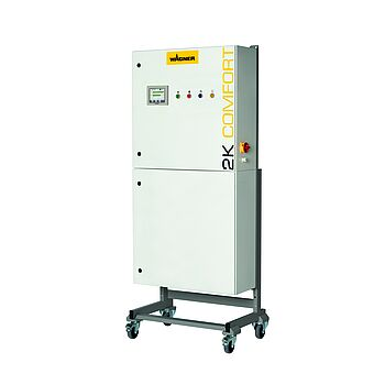 Mixing and dosing unit for multi-color applications