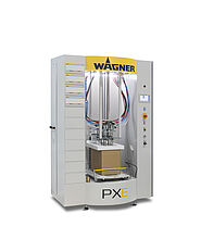 PXE powder center