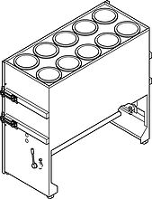 ICF Recovery System - Filter trolley
