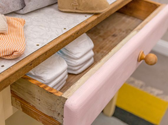 Changing table upcycling