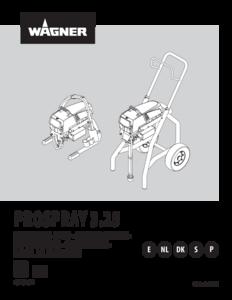 Manual de instrucciones ProSpray 3.25