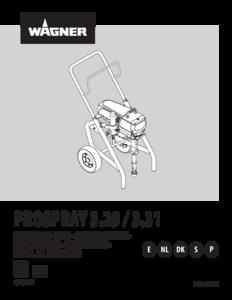 Manual de instrucciones ProSpray 3.29 / ProSpray 3.31