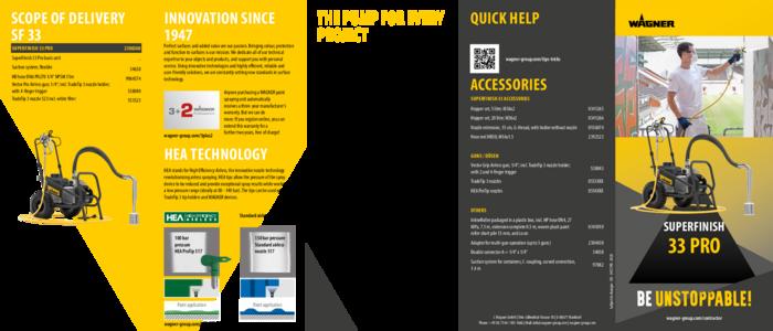 Brochure SuperFinish 33 Pro