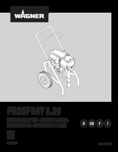 Manual ProSpray 3.39