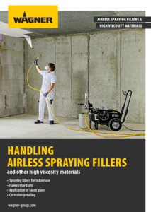 Brochure Airless spraying fillers