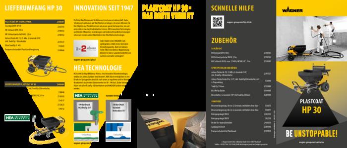 Broschüre PlastCoat HP 30