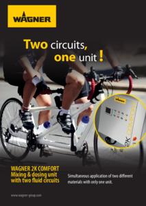 Brochure 2K COMFORT avec deux circuits de fluide