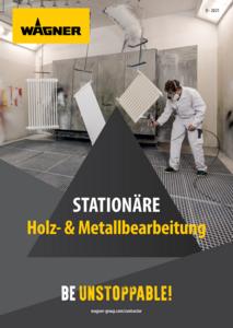 Broschüre Stationäre Holz- und Metallbearbeitung