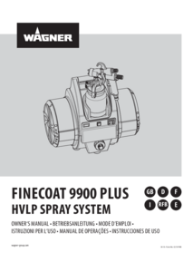 Betriebsanleitung FineCoat 9900 Plus