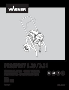 Betriebsanleitung ProSpray 3.29 / ProSpray 3.31