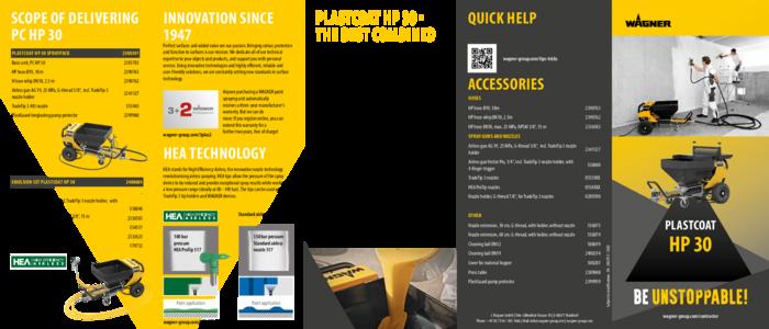 Brochure PlastCoat HP 30