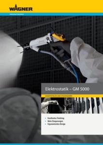 Broschüre Electrostatik GM5000 GER