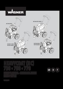 Manual HeavyCoat 730 / 750 / 770