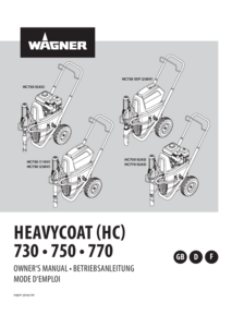 Betriebsanleitung HeavyCoat 730 / 750 / 770