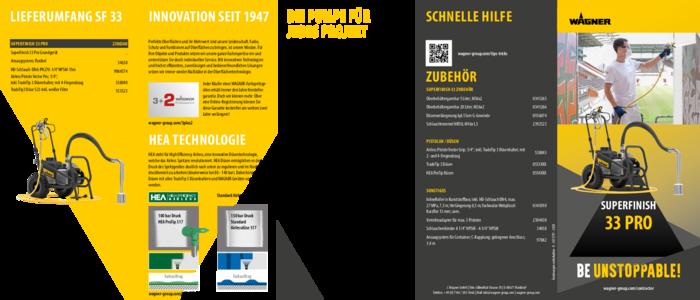 Broschüre SuperFinish 33 Pro