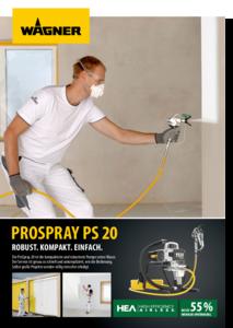 Broschüre ProSpray 20