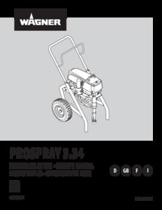 Betriebsanleitung ProSpray 3.34