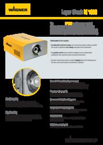 Ficha del producto Layer Check LC 1000