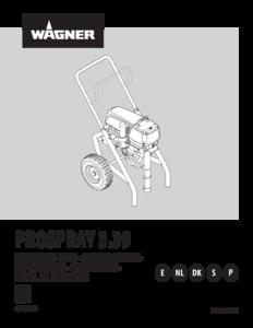 Manual de instrucciones ProSpray 3.39