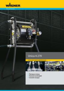 Broschüre Unica GER
