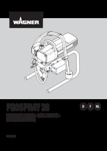 Gebruikshandleiding ProSpray 20